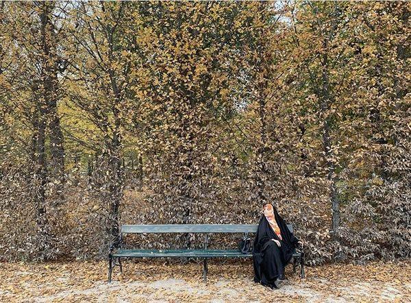 مژده لواسانی در برگریزان پاییزی + عکس