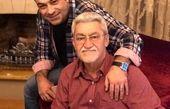 آقای گوینده خبر و بابا جانش+عکس