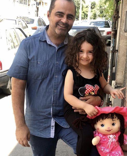 خواهرزاده کوچولوی آقای بازیگر + عکس