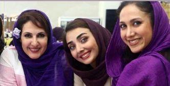 فاطمه گودرزی با تاخیر روز دختر را به دخترانش تبریک گفت + عکس