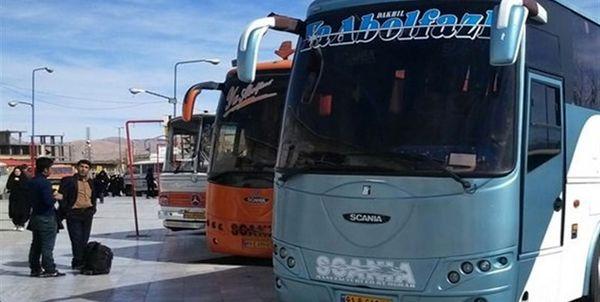 تخلف شرکت های مسافربری در نرخ بلیت اتوبوس مسیر تهران - مهران