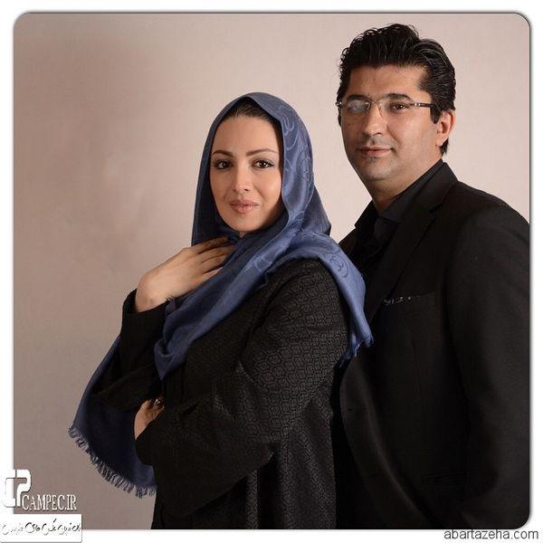 عکس آتلیه ای شیلاخداداد و همسرجانش
