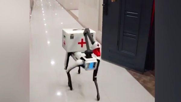 ربات هوشمند واکسیناسیون در چین+ فیلم