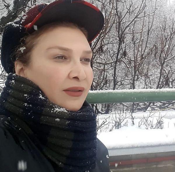 مینا نوروزی در برف + عکس