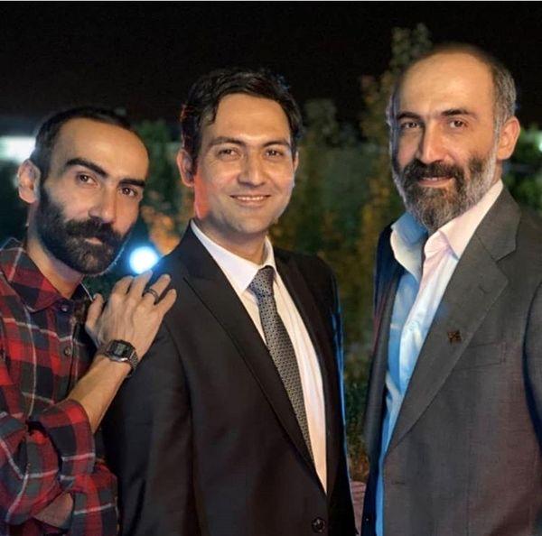 هادی حجازی فر و برادرش در مراسم عروسی + عکس