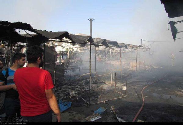 دادستان کرج: آتشسوزی بازارچه گلشهر عمدی نبود