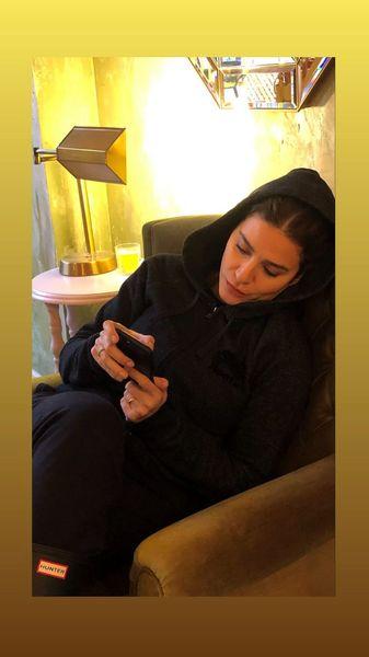 سحر دولتشاهی در خانه اش + عکس