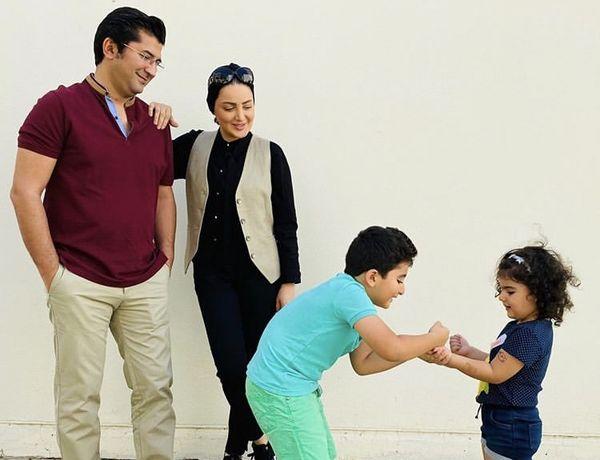 خانواده شاد وخوشحال شیلا خداداد + عکس