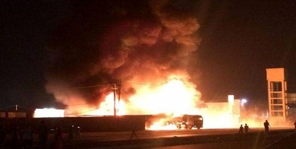 حمله به یک کاروان لجستیکی آمریکا در شمال عراق