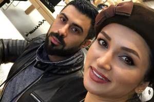 تبریک همسر روناک یونسی به وی/ عکس