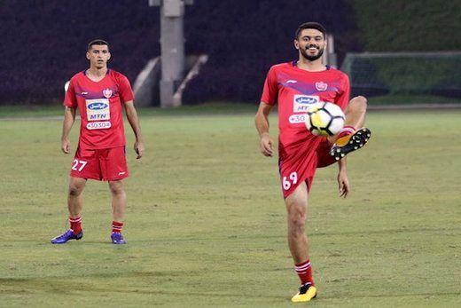 مدافع پرسپولیس بازی با السد قطر را از دست داد