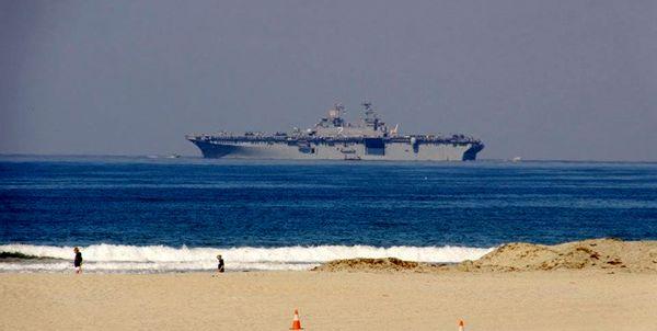 ورود ناو هواپیمابر «ال اچ دی 2» آمریکا به قطر