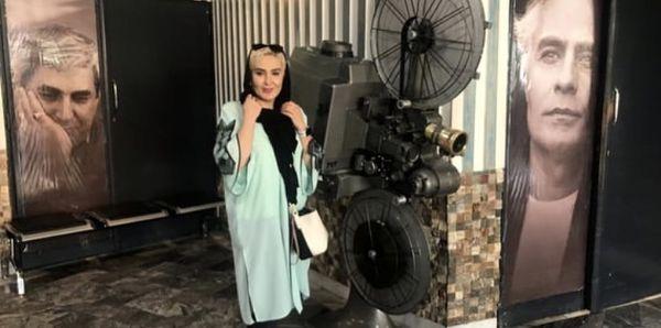 زهره فکور صبور در سینما + عکس