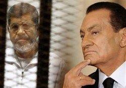 اظهارات مبارک علیه مرسی در دادگاه مصر