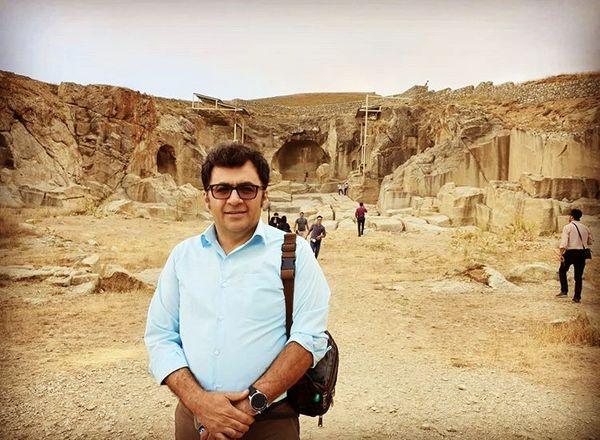 شهرام عبدلی در منطقه ای تاریخی + عکس