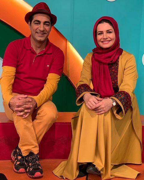 تبریک عید زوج مجری بانمک تلویزیون