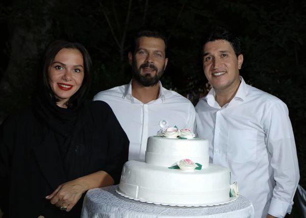 جشن تولد پژمان بازغی+عکس