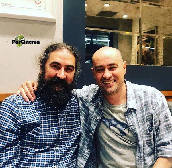 شهاب حسینی کچل شد + عکس