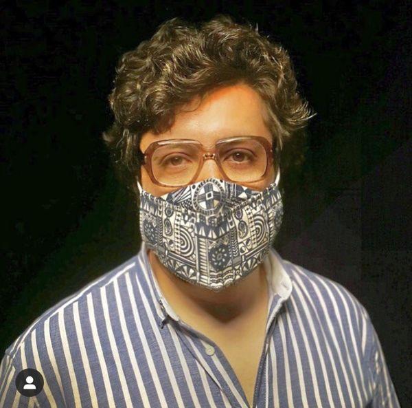 ماسک خاص مهران رنجبر + عکس