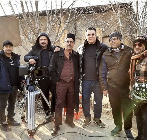 مجید سعیدی و همکارانش + عکس