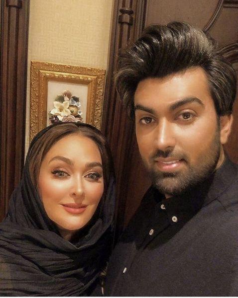 سلفی جدید الهام حمیدی و شوهرش + عکس