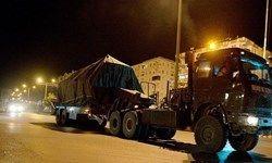 ورود تجهیزات نظامی ترکیه به غرب استان «حماه» در سوریه