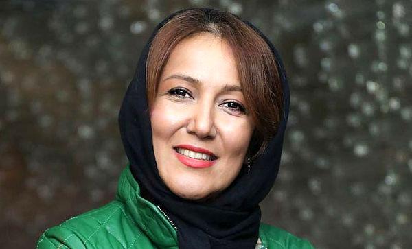 بازیگر زن سینما به سوگ نشست/ عکس
