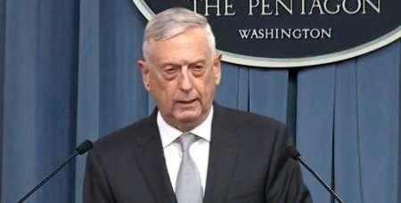 وزیر دفاع آمریکا از پایان حملات موشکی به سوریه خبر داد