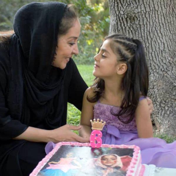 جشن تولد دخترخوانده خانم بازیگر+عکس