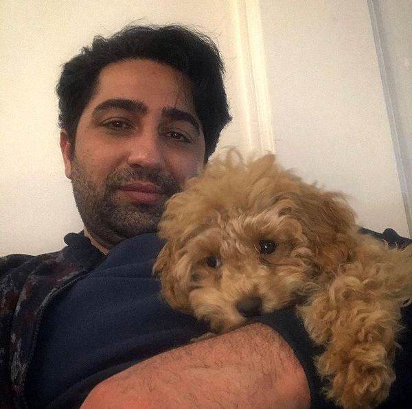سگ عروسکی علی سخنگو + عکس