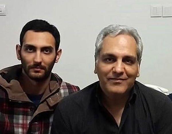 شباهت دیدنی مهران مدیری و پسر هنرمندش+عکس