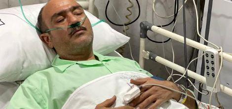 مهران غفوریان سکته کرد | مردم برای مهران غفوریان دعا کنید حال او وخیم است