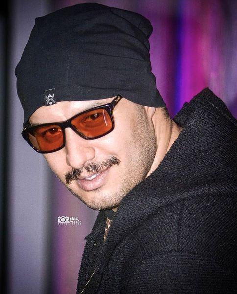 جواد عزتی با ظاهری متفاوت + عکس