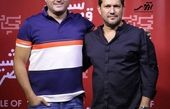 حامد بهداد در کنار بازیگر چشم روشن سینمای ایران + عکس