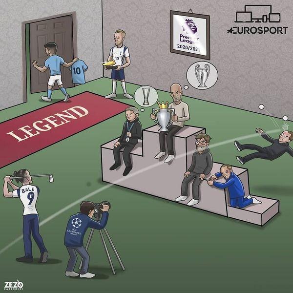 مهمترین اتفاقات لیگ جزیره در این فصل/ کاریکاتور