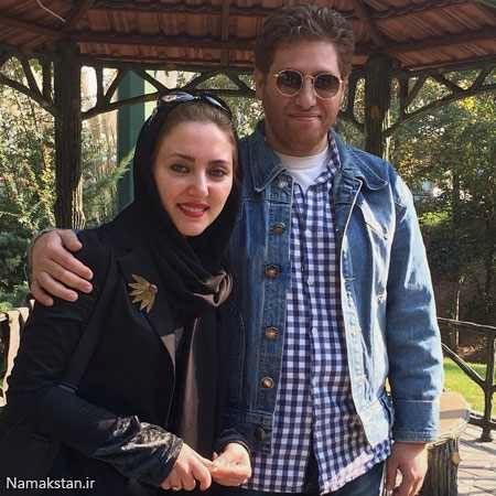 مهسا کرامتی و همسر کارگردانش در گردش+عکس