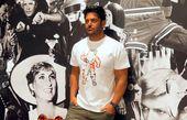 محمدرضا گلزار در کنار دیواری متفاوت + عکس
