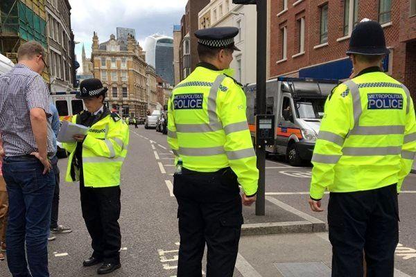 حمله با چاقو در لندن