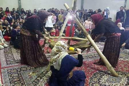 جشنواره بومی محلی «دایک» در مهاباد برگزار شد