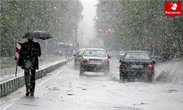 بارش برف و باران در کشور تا اواسط هفته آینده