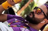 تیپ لاکچری میلاد کی مرام در ورزش+عکس