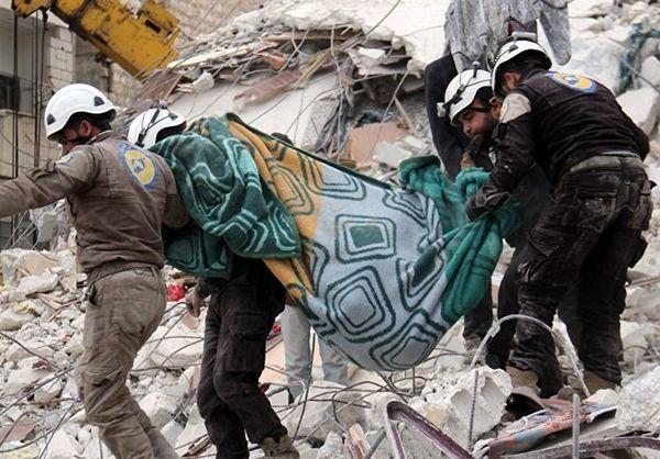 المیادین: «کلاه سفیدها» مواد سمی در ادلب جابجا کردند