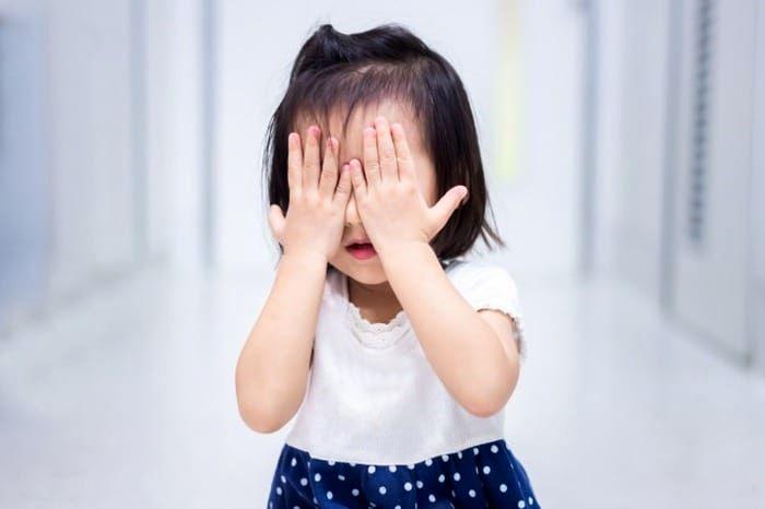 خجالت کودک