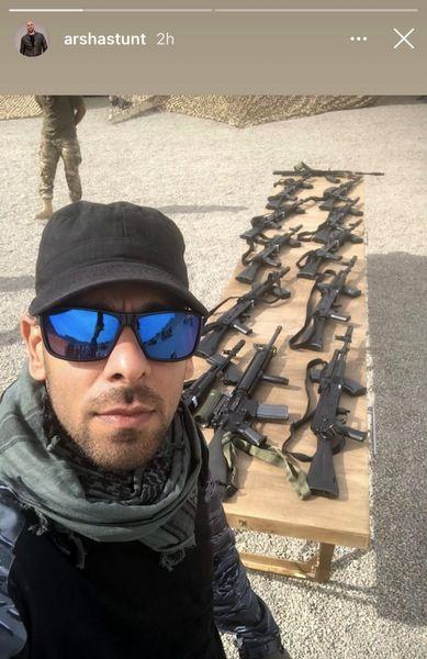 اسلحه های ارشا اقدسی + عکس