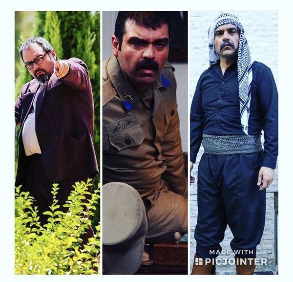 شهرام قائدی با گریمهای متفاوتش + عکس