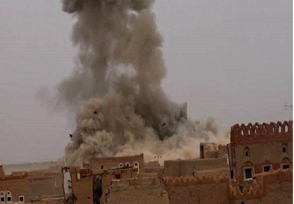 عربستان روستاهای استان صعده یمن را هدف قرار داد