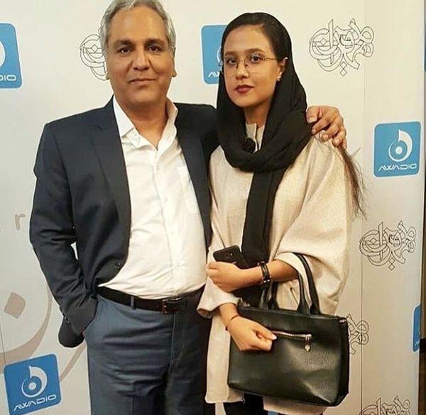 مهران مدیری و برادرزاده اش+عکس