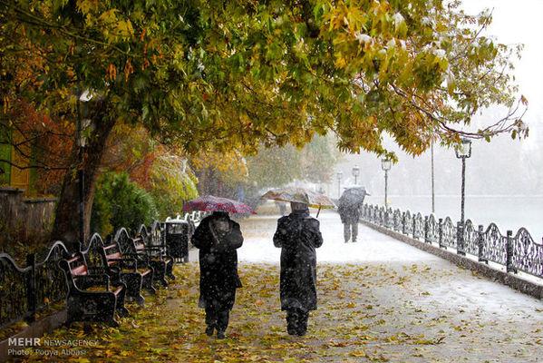 آمادگی کامل نیروهای خدمات شهری برای بارش برف و باران در پایتخت