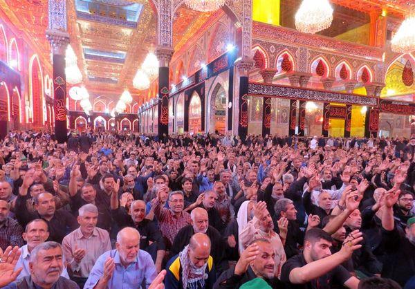 اینجا کربلا حرم امام حسین(ع) ۶ روز مانده به اربعین