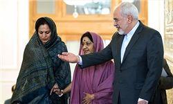 در دیدار وزرای خارجه ایران و هند